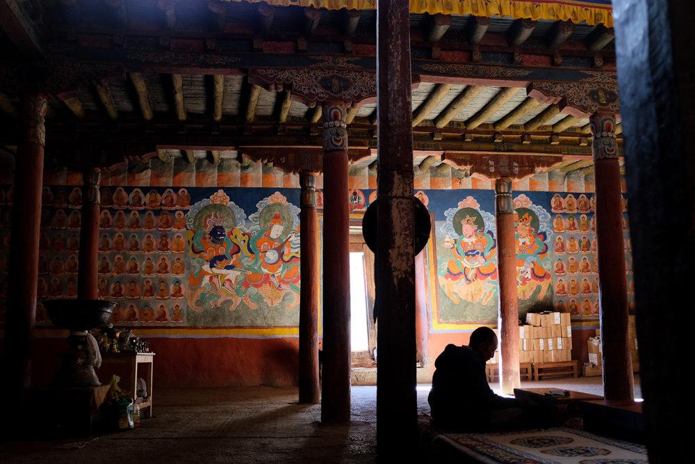 Gonpa Soma Temple, Leh, Ladakh, 2016
