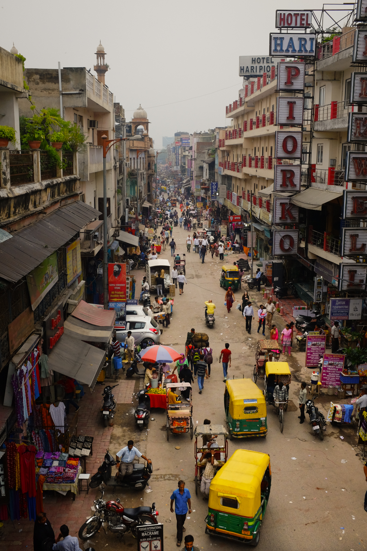 Paharganj, New Delhi, 2016