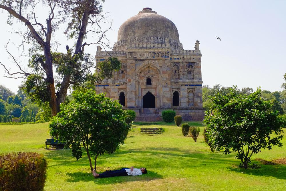 Lodhi Garden, New Delhi, 2016