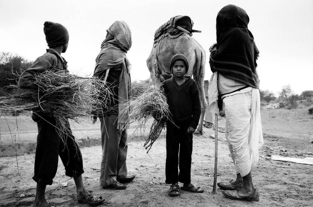 Nomads. Thar Desert, Rajasthan, 2013