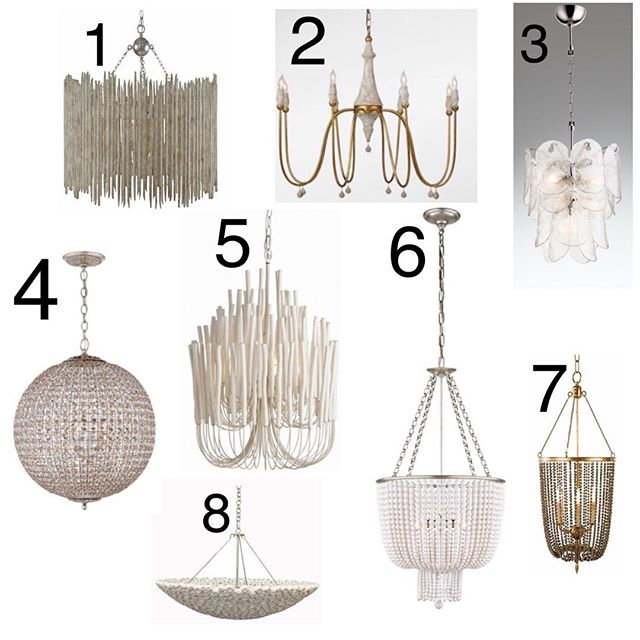 Lighting! Which fixture speaks to you?? It's one of the most important accessories in a home though it often gets overlooked. For me lighting sets the mood of the room. It can be bold or understated but it has its place in each space in your home. #mycrafthome #lettherebelight