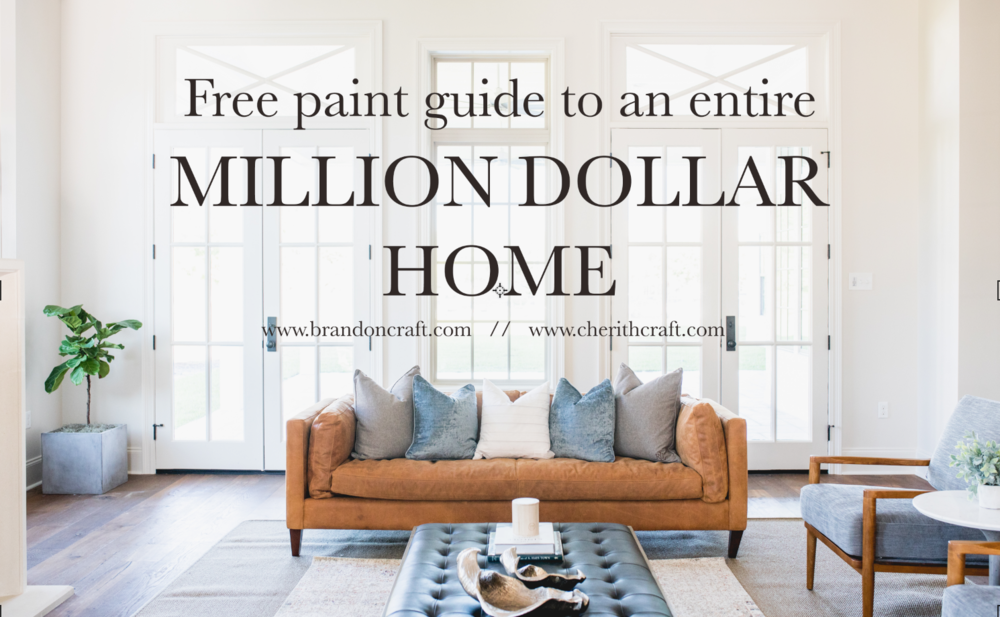 Free Paint Guide entire home