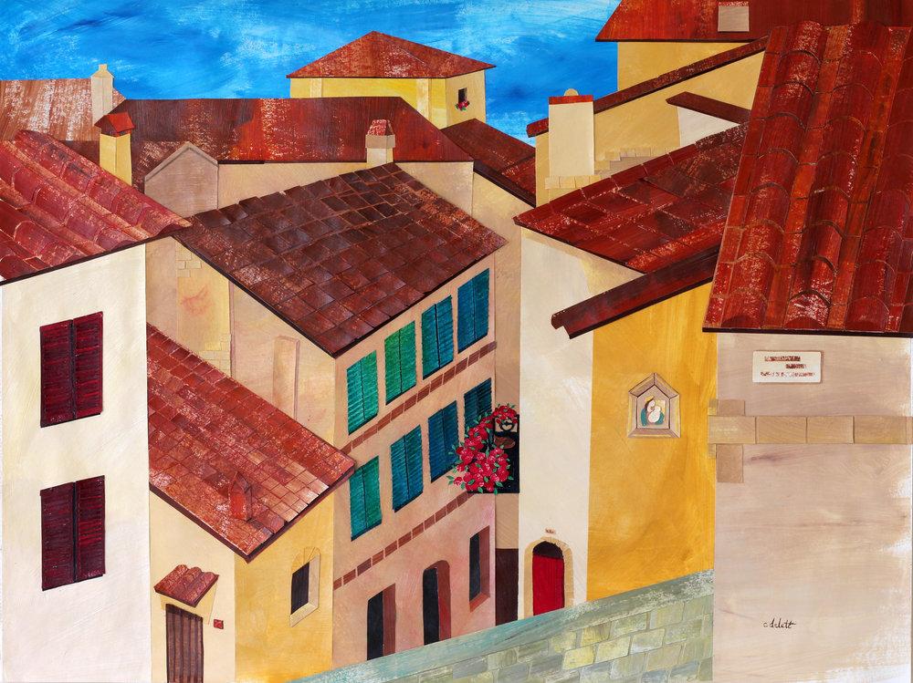 """Montepulciano"", 9x12"