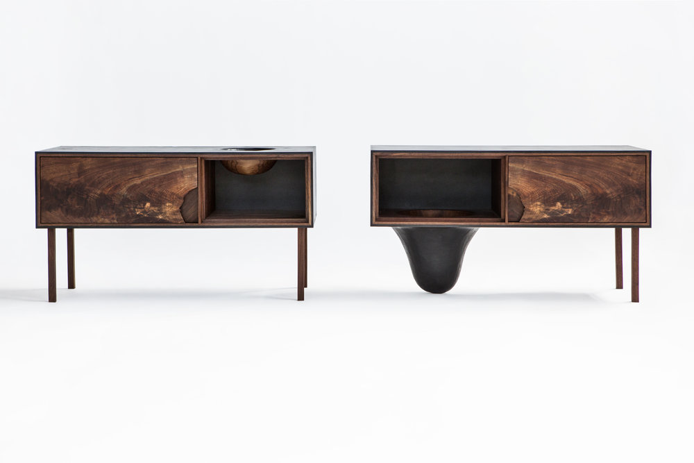 Side tables by Patrick Weder