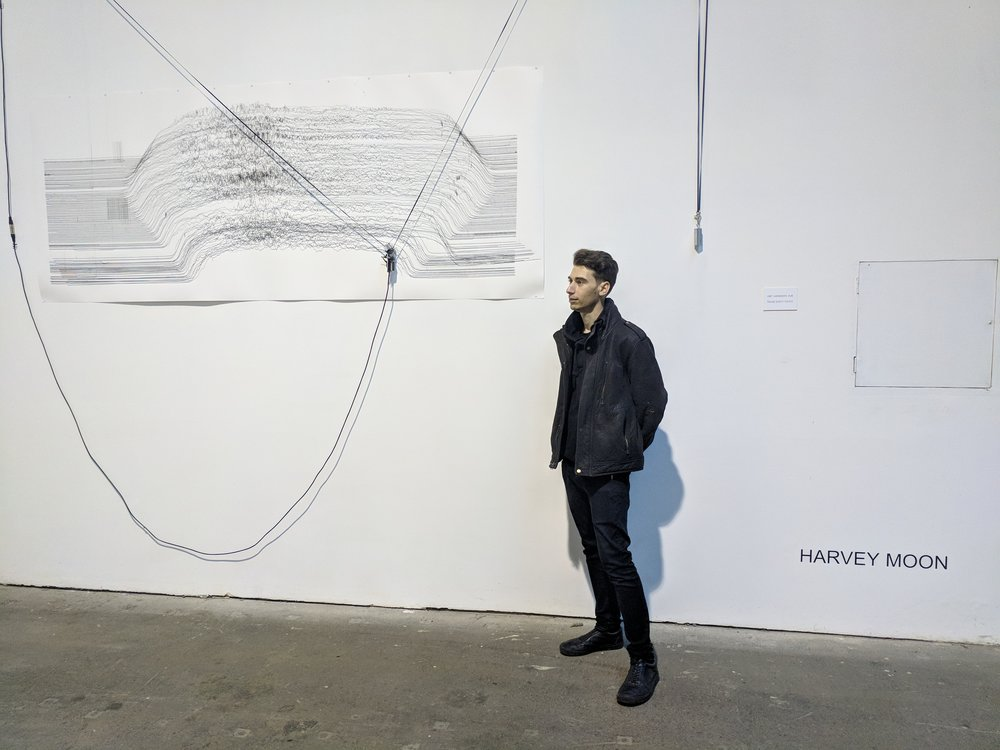 Harvey Moon , AI Robotic Drawing Machine