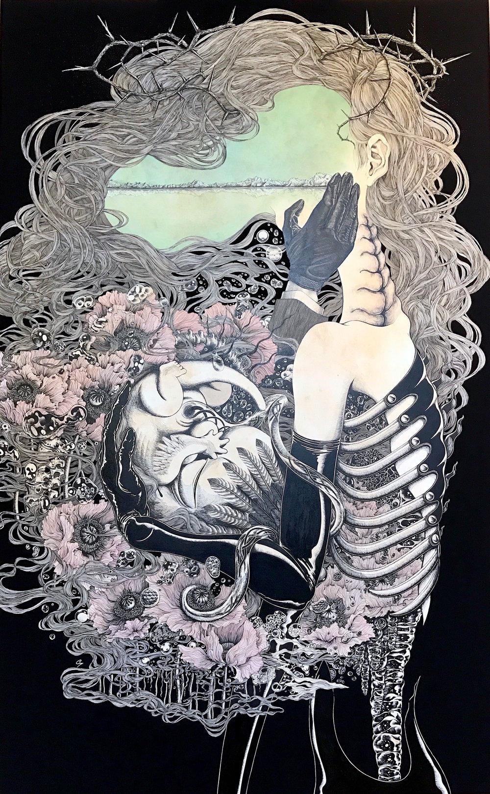 Hiroko Shiina Black Box - Consolation, 2017, Courtesy G-77