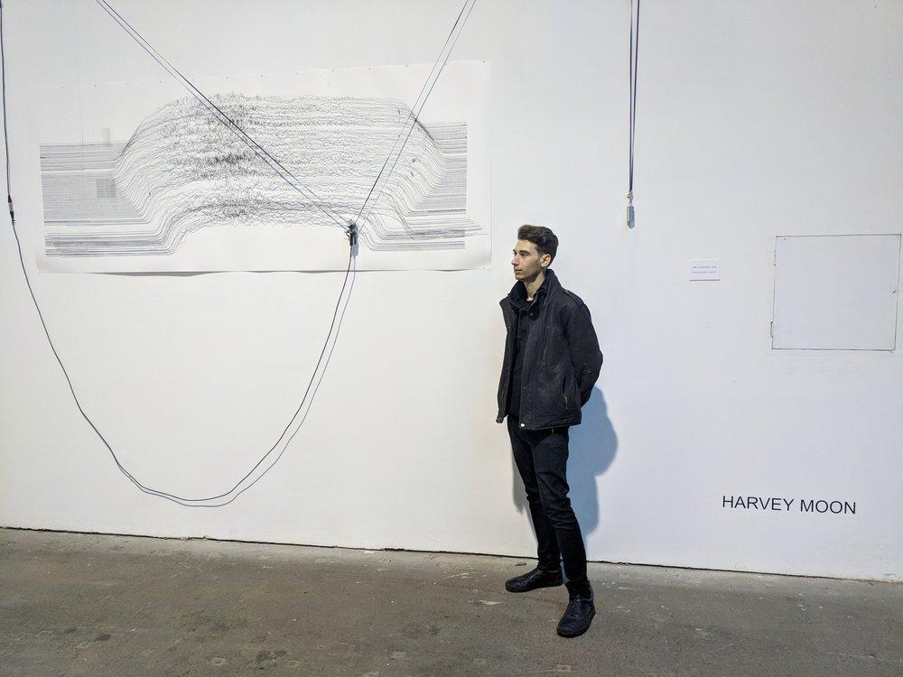Harvey Moon, AI Robotic Drawing Machine