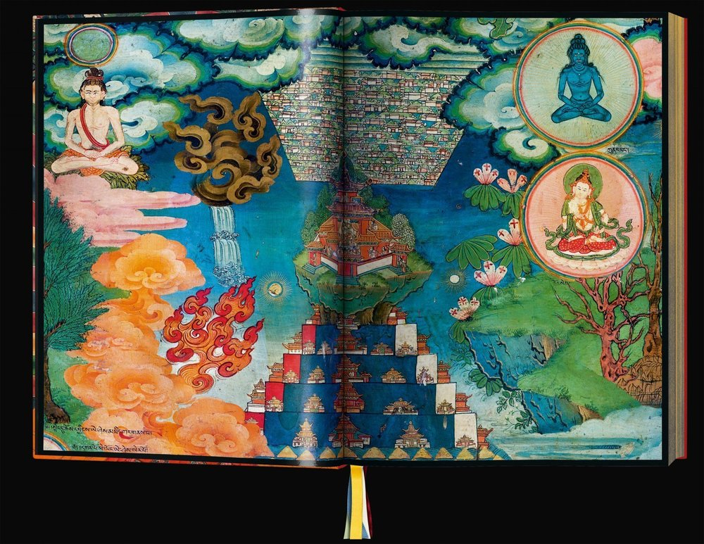 Murals of Tibet by Thomas Laird Courtesy Taschen