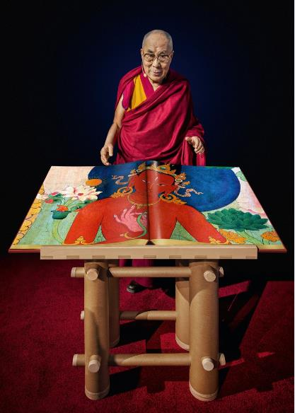 Murals of Tibet by Thomas Laird, Courtesy Taschen