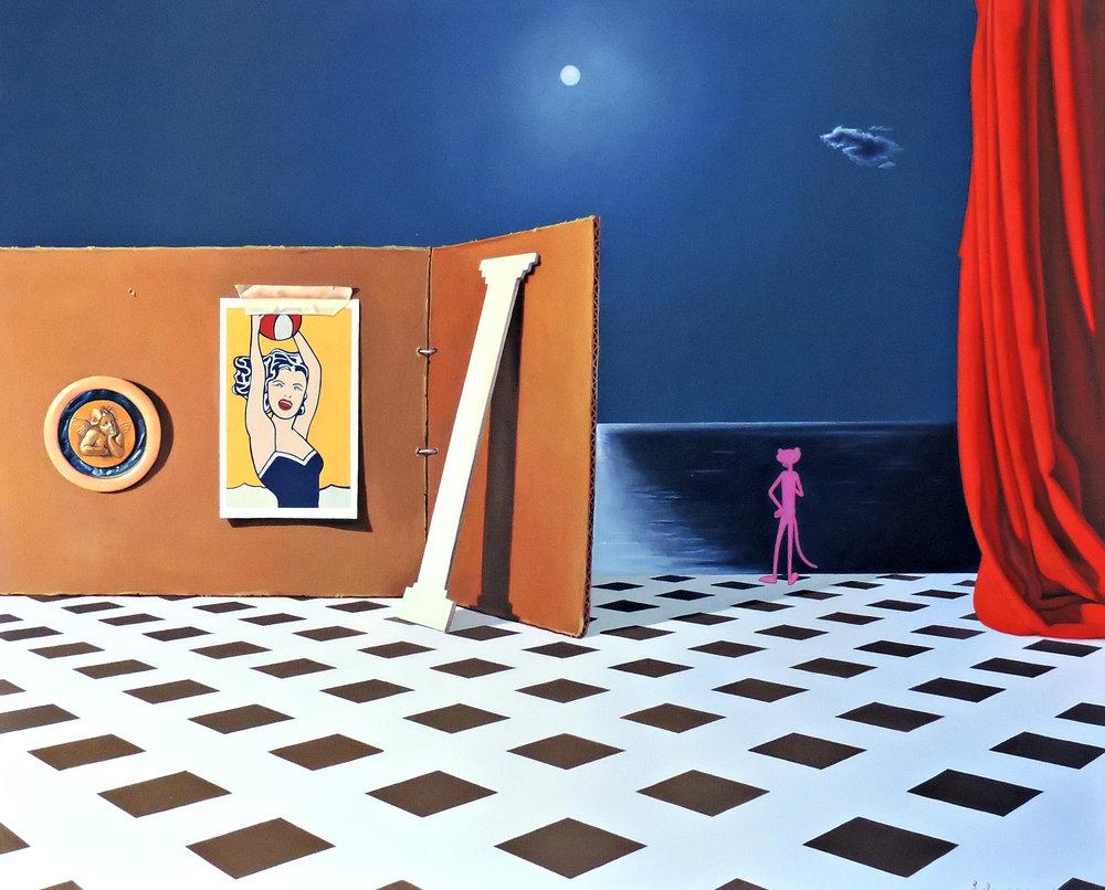 Joaquín Lalanne,  Thinking Pop,  2018. 81 x 130 cm, courtesy Galeria Zielinsky