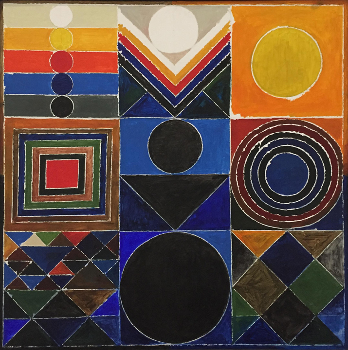 S  H  Raza,  Prakriti  -  Bindu  Series,  2004,  Acrylic  on  canvas, 40  x  40  in., Courtesy the artist and Aicon Gallery.