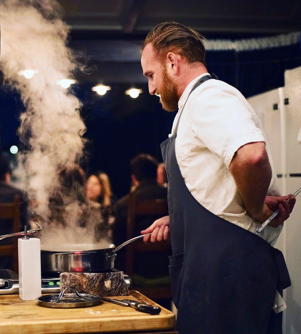 Cooking at Bull&Dragon