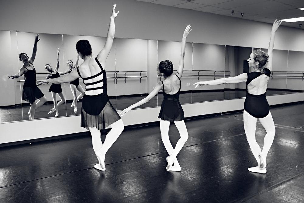 Dancing across the floor