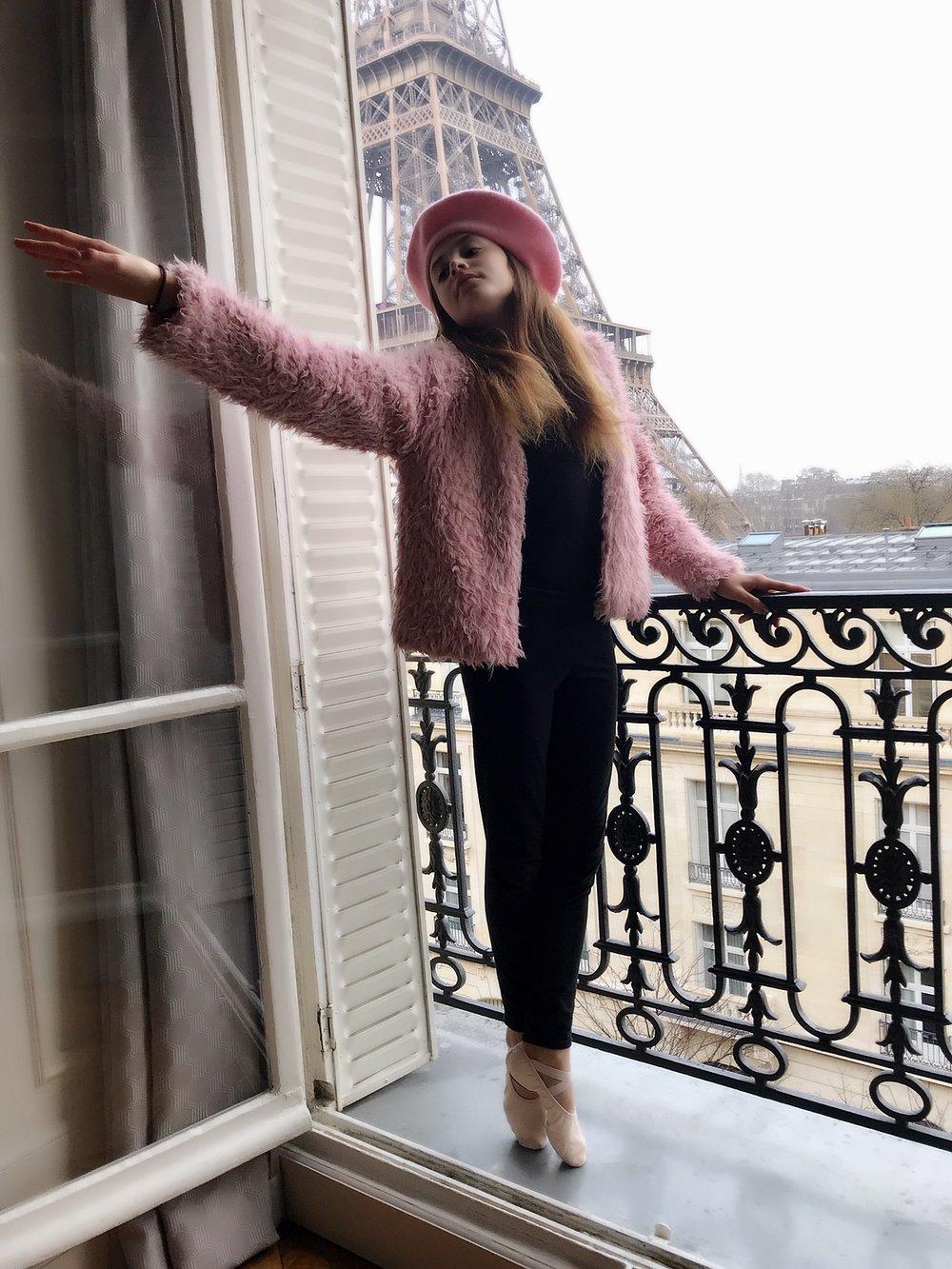 Harriet in Paris, France