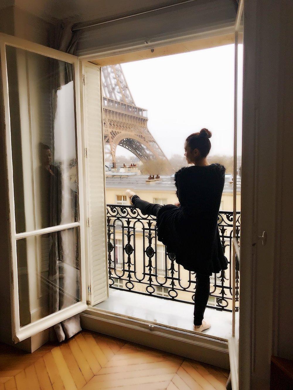 Pam in Paris, France