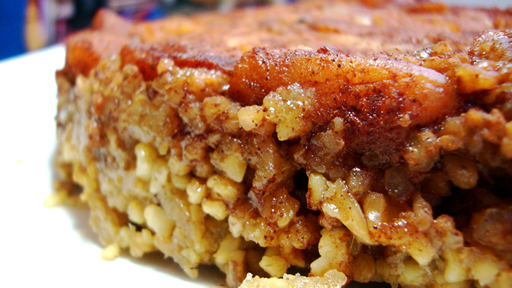Flipped-over Apple Cake