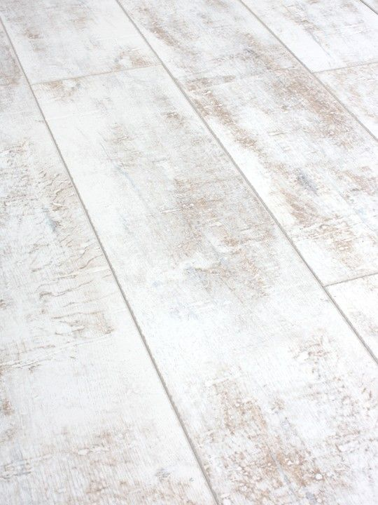 Bleached Coastal Wood Floor