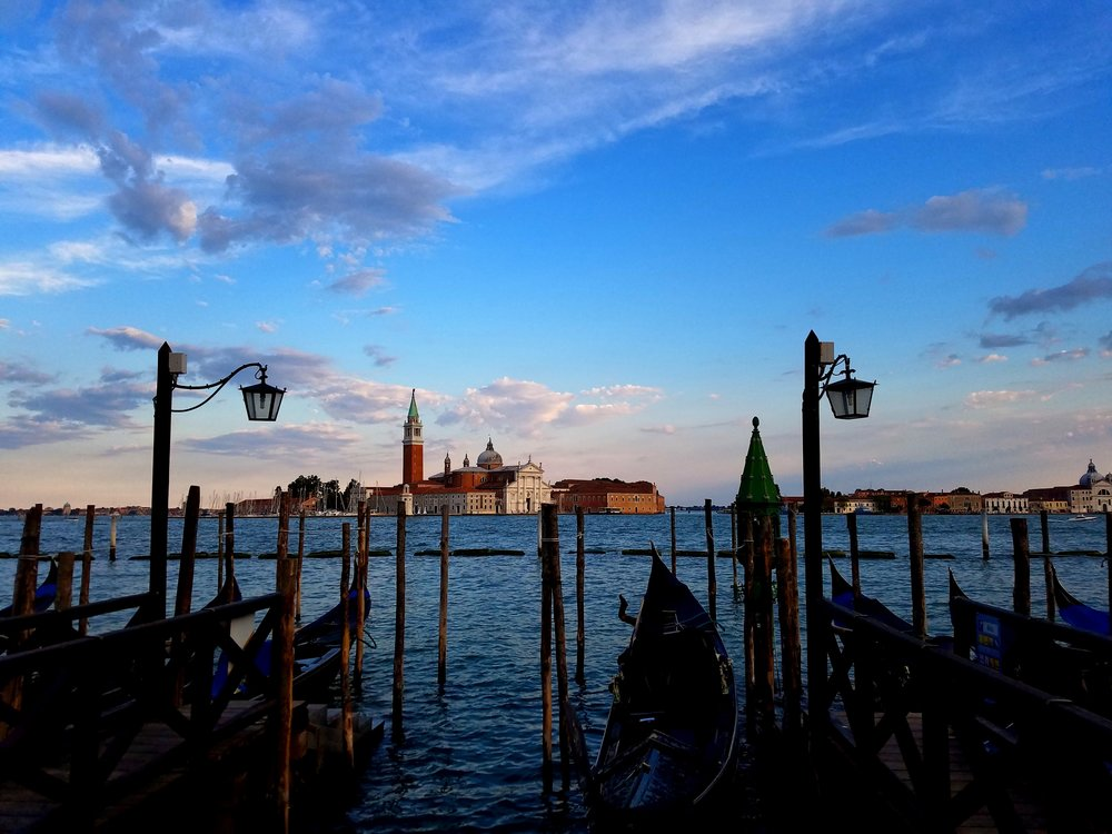 Sunset Venice Canals