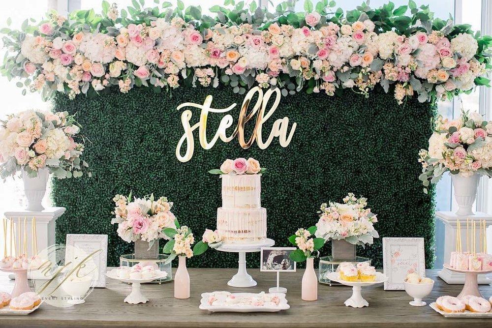 Seeking Solace Blog Wedding Backdrop Sign