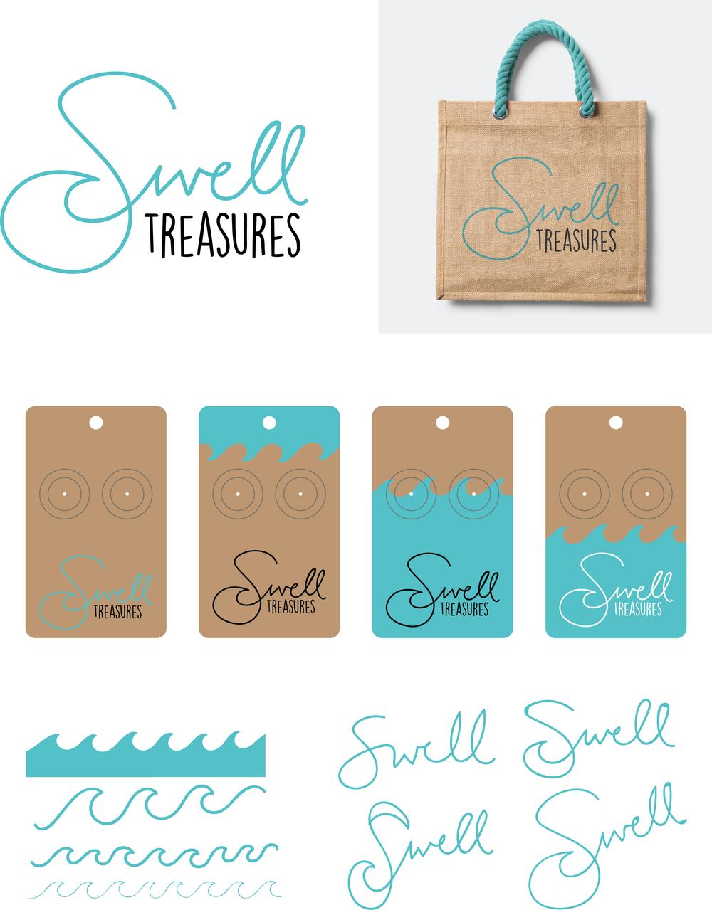 Brand Design - Swell Treasures