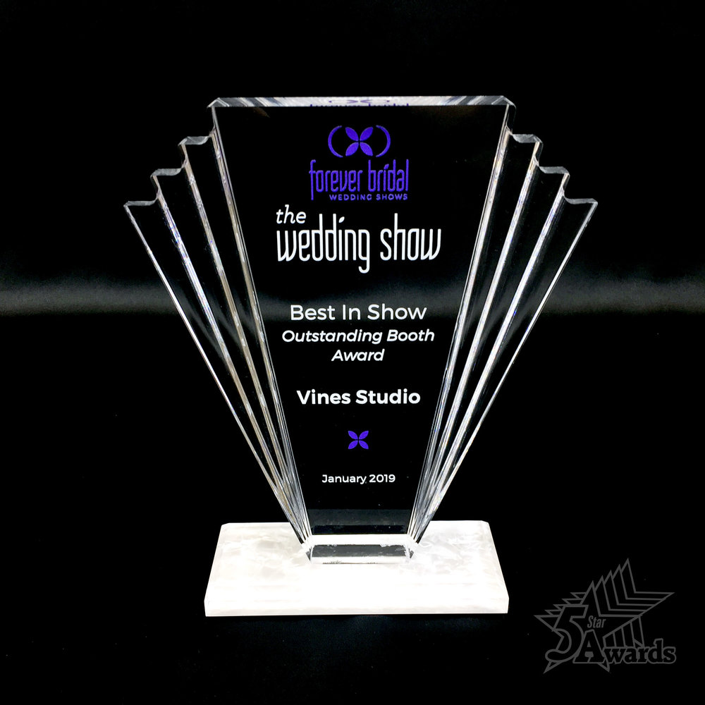 Forever Bridal Acrylic Award