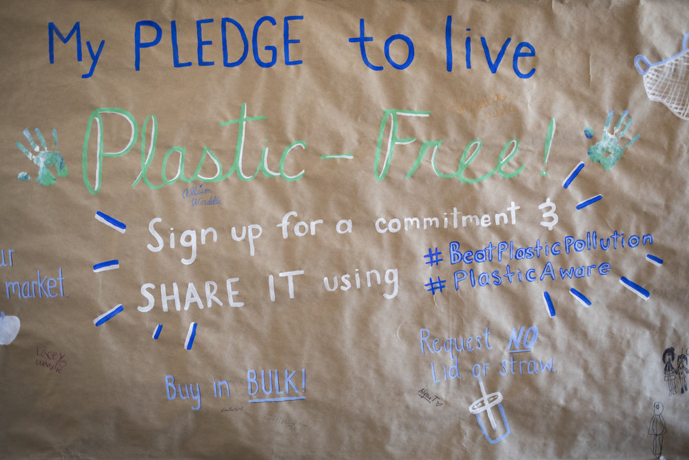 Smog of the Sea attendees signed the pledge to live plastic-free.  TAKE THE PLEDGE TODAY  and learn more about the important work of the  Florida Microplastic Awareness Project .