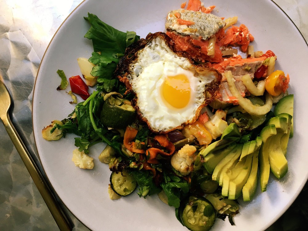 Classic Whole30 breakfast - nothing wrong with eating amazing food  all the time