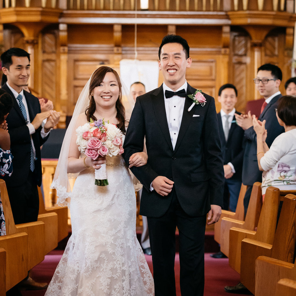 David and Dasom's Wedding, captured on May 05, 2018; at St. Paul AME Church, in Cambridge, Massachusetts, by Aaron Collins Photography.