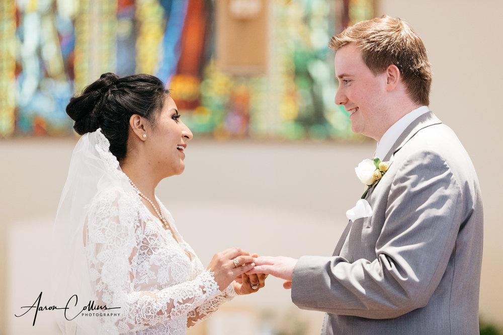 Wedding at Saint George Parish Worcester Massachusetts
