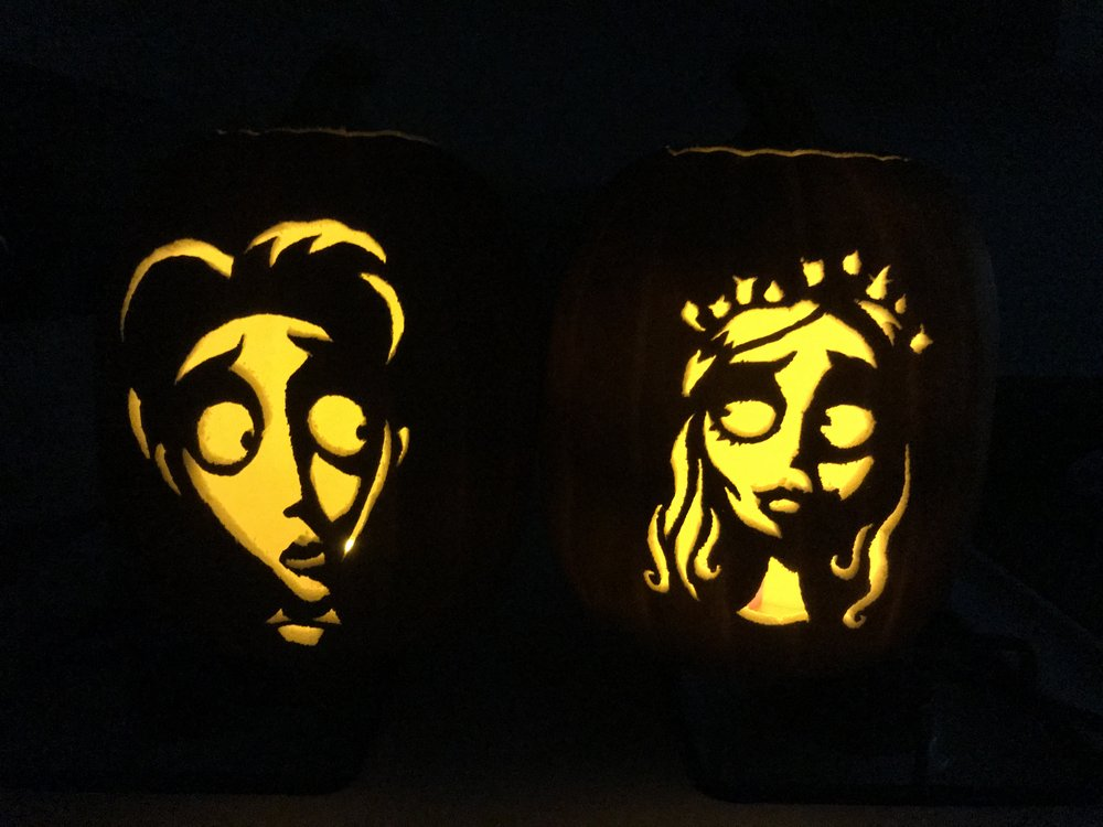 Victor and the Corpse Bride Pumpkins
