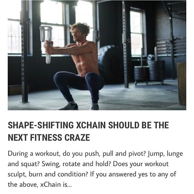 Check us out on the homepage of @manofmanytastes !! What an awesome feature article 'Shape-Shifting xChain Should Be The Next Fitness Craze' .. we agree! #TrainxChain https://manofmany.com/lifestyle/fitness/shape-shifting-xchain-next-fitness-craze • • • • • #Kickstarter #ManOfMany #Workout #Fitness #ProductDesign #Design #NewProduct #Innovation #Indiegogo #Engineering #Strength #PicOfTheDay #CrowdFunding #PR #Training #FitnessMotivation