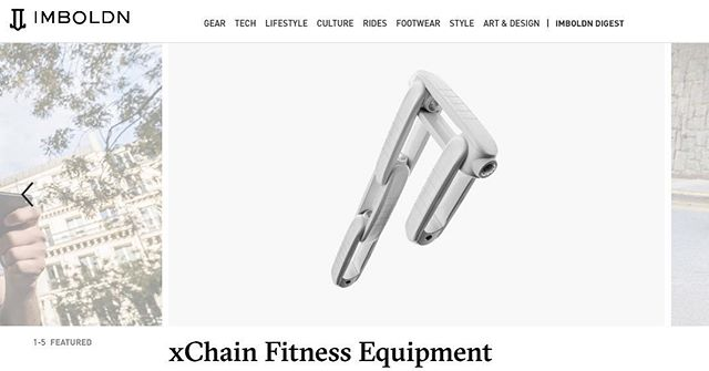 xChain is featured once again! Check us out as the main homepage article on @imboldn !! #TrainxChain  https://www.imboldn.com/lifestyle/xchain-fitness-equipment/ • • • • • #Kickstarter #KickstarterCampaign #CrowdFunding #NewProduct #Fitness #Workout #FitnessMotivation #Design #Engineering #Indiegogo #Training #PR #PicOfTheDay #Imboldn #Shopping #Strength #Sculpt #Mobility