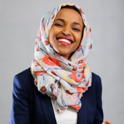 Rep. Ilhan Omar (D-MN) -  Twitter  profile pic