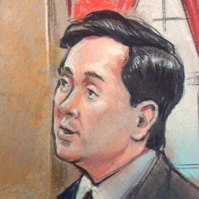 Drawing of George Conway (from his Twitter profile pic)