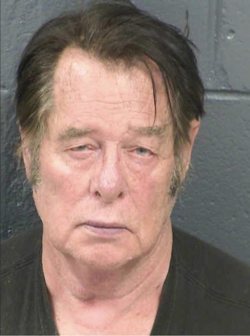 Larry Mitchell Hopkins, a leader of United Constitutional Patriots, appears in a police booking photo taken at the Dona Ana County Detention Center in Las Cruces, New Mexico, U.S., April 20, 2019. Dona Ana County Detention Center/Handout via  REUTERS .