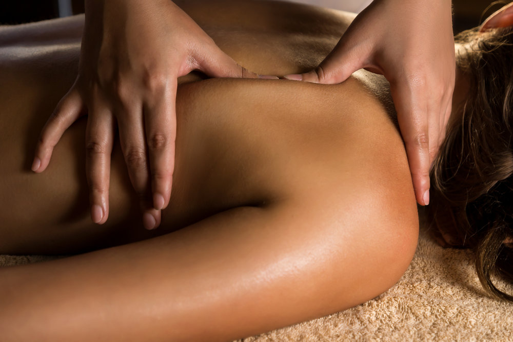 myofascial massage - Myofascial massage works on releasing restricted patterns within fascia, the connective tissue that encompasses every muscle, fiber and cell in the entire body. Myofascial therapy is great for correcting structural imbalances that result from injury, habitual/repetitive patterns and the pain associated with these habits.