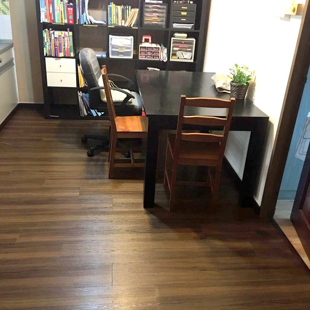 Premium Resilient Vinyl Flooring Singapore Beautiful Teak(5).jpg