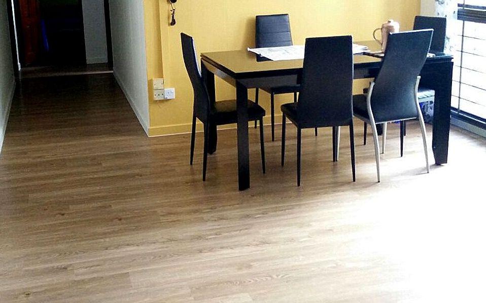 Premium Resilient Flooring - NBL 79 Golden Oak
