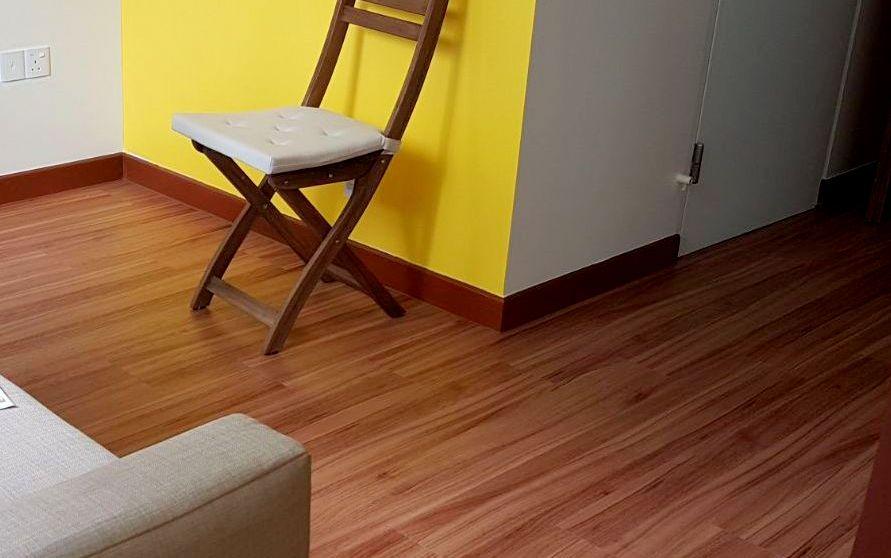 Premium Resilient Flooring - NBL 76 Mahogany Sunburst