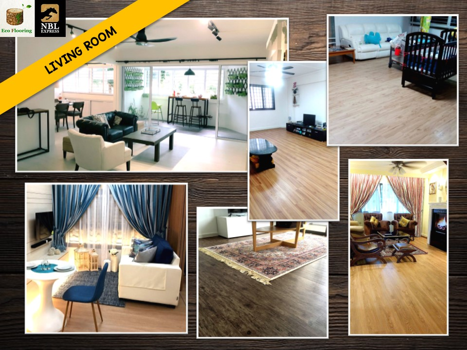 Premium Resilient Vinyl Flooring for Living Room