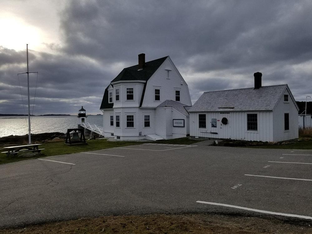 Marshall Point Lighthouse Caretaker House