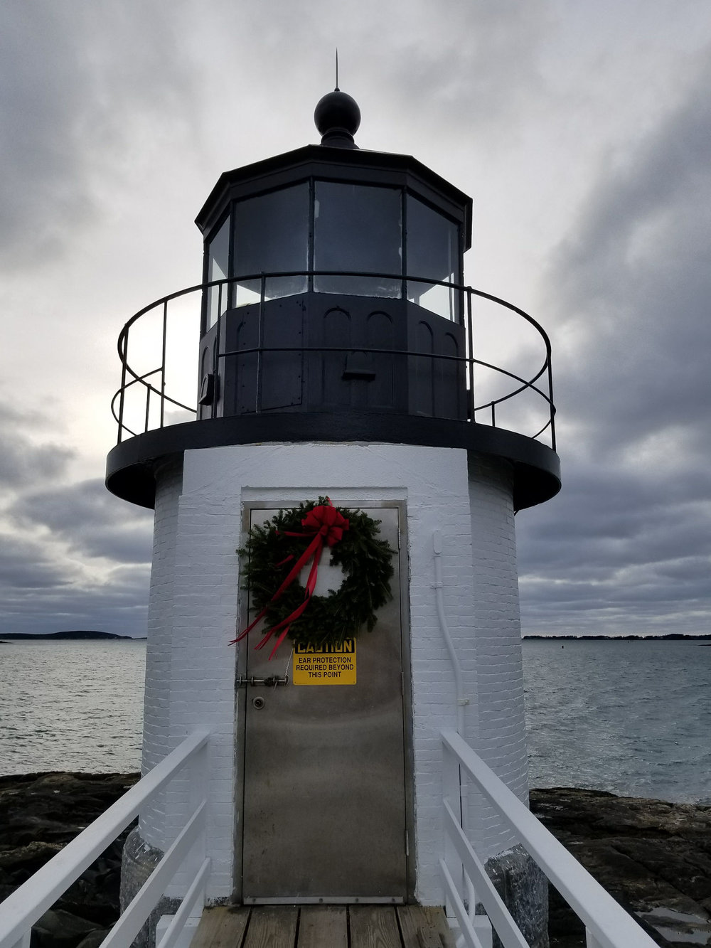 Closeup of Marshall Point Lighthouse