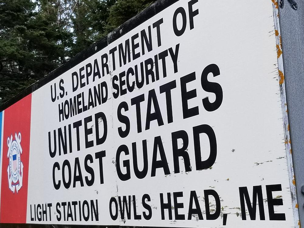 US Coast Guard Owl's Head