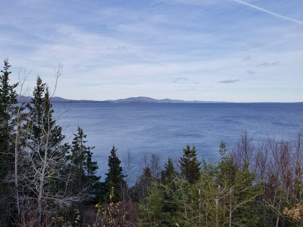 Penobscot Bay from Owl's Head Lighthouse