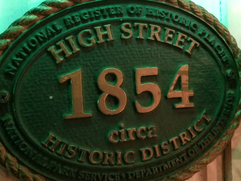 Camden Windward House Historic Plaque