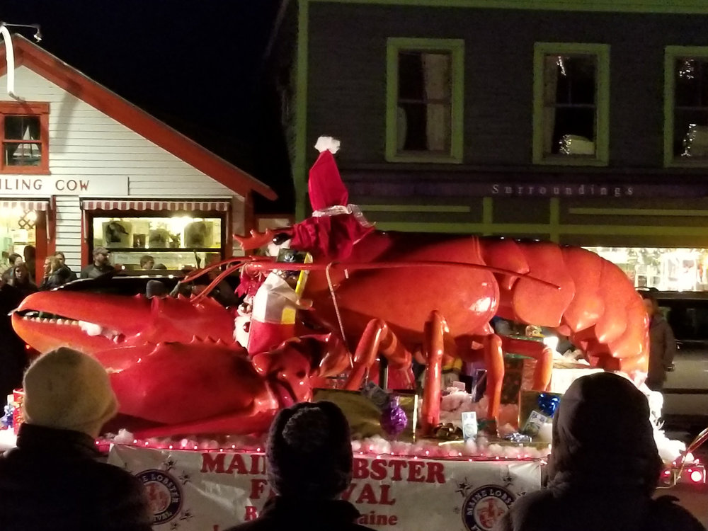 Christmas By The Sea Parade Float