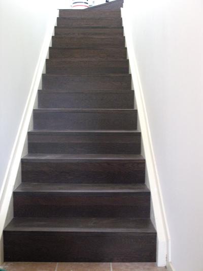 EuroPlank Oak Sepia Stairs
