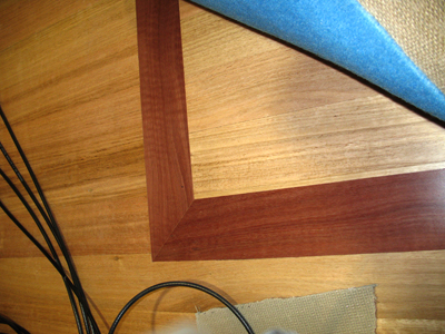 Tasmanian Oak with Jarrah Border