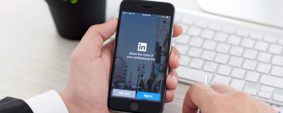 where business professionals connect  - linkedin.