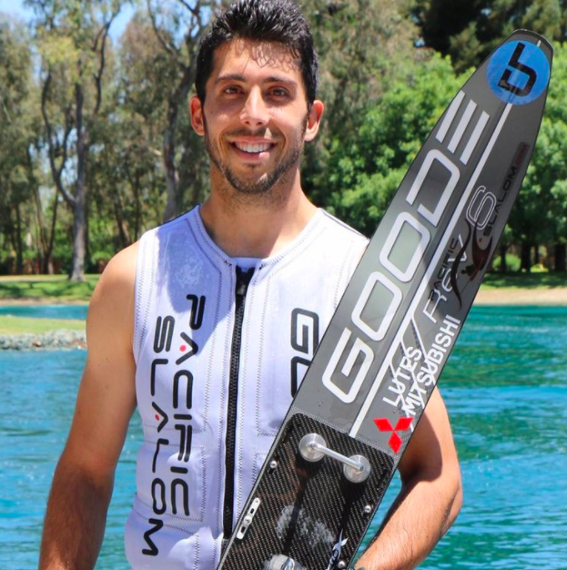 Brian Detrick - is a professional water skier from Elk Grove, California. Growing up, Brian developed a passion for waterskiing while playing other sports like soccer, basketball,and football. Brian has held numerous records both at the national and world level. He recently held a top 8 world ranking and continues to grow in the water skiing world.